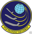 STICKER USAF 373RD TRAINING SQUADRON
