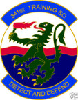 STICKER USAF 341ST TRAINING SQUADRON