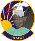 STICKER USAF 341ST MISSILE SECURITY FORCES SQ