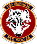 STICKER USAF 336th TRAINING SQUADRON
