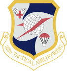 STICKER USAF 322nd Tactical Airlift Wing