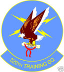STICKER USAF 320TH TRAINING SQUADRON