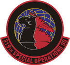 STICKER USAF 319TH SPECIAL OPS SQUADRON