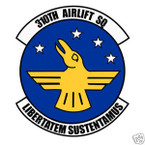 STICKER USAF 310TH AIRLIFT SQUADRON