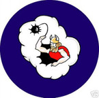 STICKER USAF 306th Bomb Group - 368th Bomb Squadron