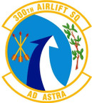 STICKER USAF 300th AIRLIFT SQUADRON