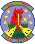 STICKER USAF 202ND RAPID ENGINEER SQUADRON