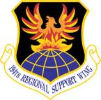 STICKER USAF 194TH REGIONAL SUPPORT WING