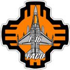 STICKER USAF 188TH FIGHTER SQUADRON TACO