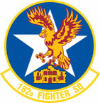 STICKER USAF 182nd Fighter Squadron