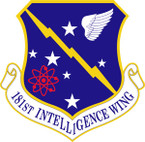 STICKER USAF 181ST INTELLIGENCE WING