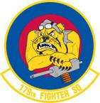 STICKER USAF 179TH FIGHTER SQUADRON