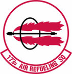 STICKER USAF 173rd Fighter Squadron