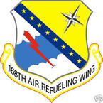 STICKER USAF 168TH AIR REFUELING WING