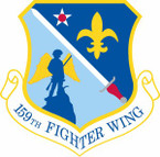 STICKER USAF 159th Fighter Wing