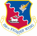 STICKER USAF 156th Fighter Wing