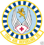 STICKER USAF 150TH AIR REFUELING SQUADRON