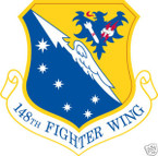 STICKER USAF 148TH FIGHTER WING