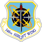 STICKER USAF 146TH AIRLIFT WING
