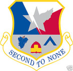 STICKER USAF 136TH AIRLIFT WING