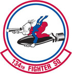 STICKER USAF 134TH FIGHTER SQUADRON
