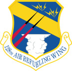 STICKER USAF 128TH AIR REFUELING WING