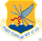 STICKER USAF 124TH WING