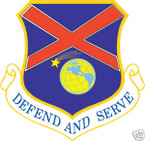 STICKER USAF 117TH AIR REFUELING WING