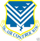 STICKER USAF 116TH AIR CONTROL WING