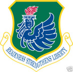 STICKER USAF 106TH RESCUE WING