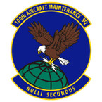 STICKER USAF 100th Aircraft Maint Squad