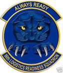 STICKER USAF  96TH LOGISTICS READINESS SQUADRON