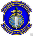 STICKER USAF  96TH GROUND COMBAT TRAINING SQUAD