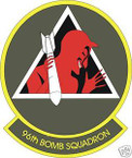 STICKER USAF  96TH BOMB SQUADRON
