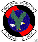 STICKER USAF  92ND AIR REFUELING SQUADRON