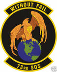 STICKER USAF  73RD SPECIAL OPS SQUADRON