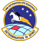 STICKER USAF  68th Information Ops Sq
