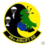 STICKER USAF  48TH AIRLIFT SQUADRON