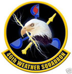 STICKER USAF  46TH WEATHER SQUADRON