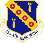 STICKER USAF  42ND AIRBASE WING