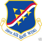 STICKER USAF  39TH AIRBASE WING