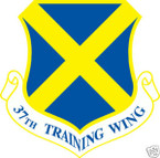 STICKER USAF  37TH TRAINING WING