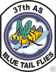 STICKER USAF  37TH AIRLIFT SQUADRON
