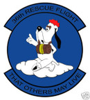 STICKER USAF  36TH RESCUE SQUADRON