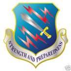 STICKER USAF  21ST SPACE WING II