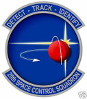 STICKER USAF  20TH SPACE CONTROL SQUADRON