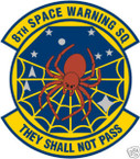 STICKER USAF   8TH SPACE WARNING SQUADRON