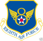 STICKER USAF   8TH AIR FORCE
