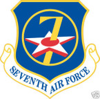 STICKER USAF   7TH AIR FORCE