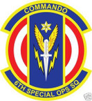 STICKER USAF   6TH SPECIAL OPERATIONS SQUADRON
